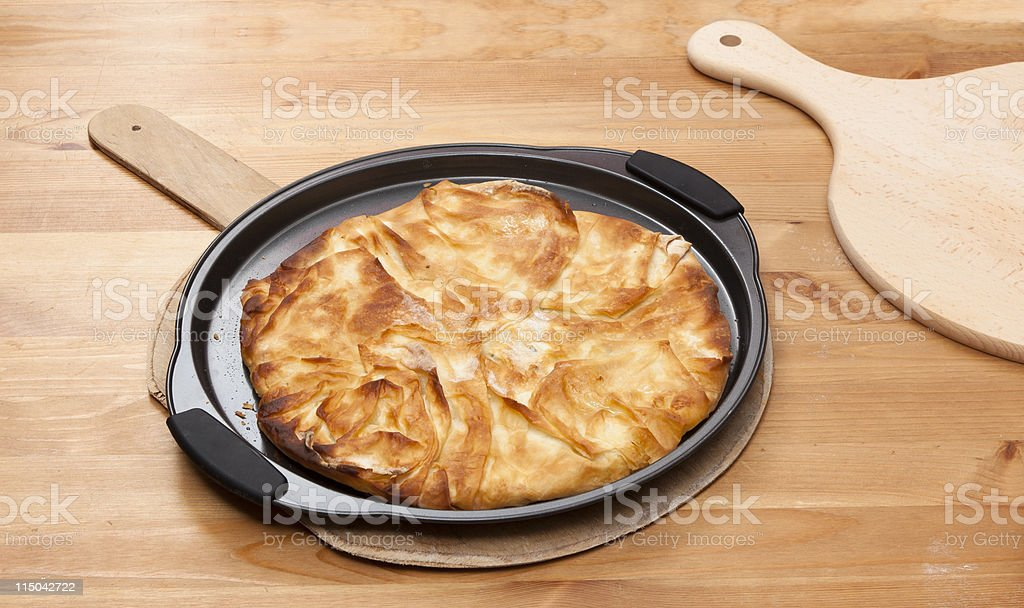 Filo Pastry stock photo