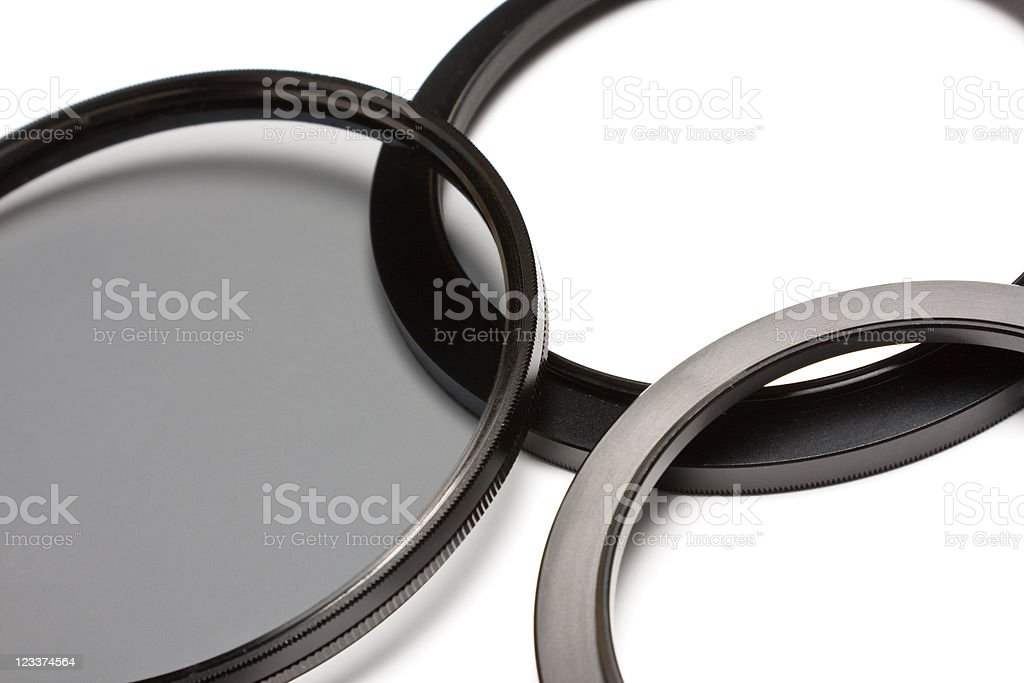 Filter And Adapter stock photo