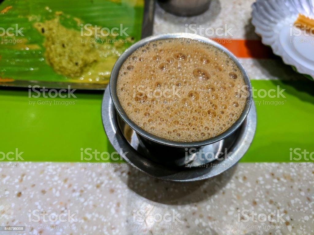 filter coffee stock photo
