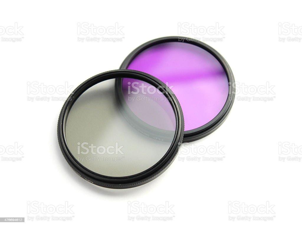 UV filter stock photo