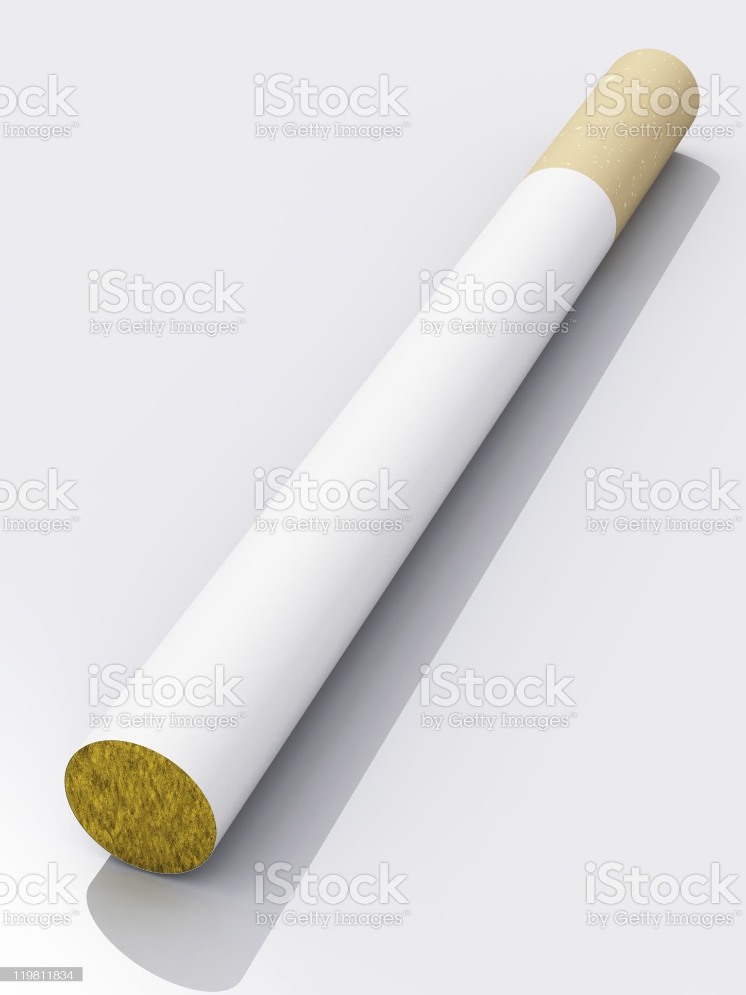 Filter tip cigarette royalty-free stock photo