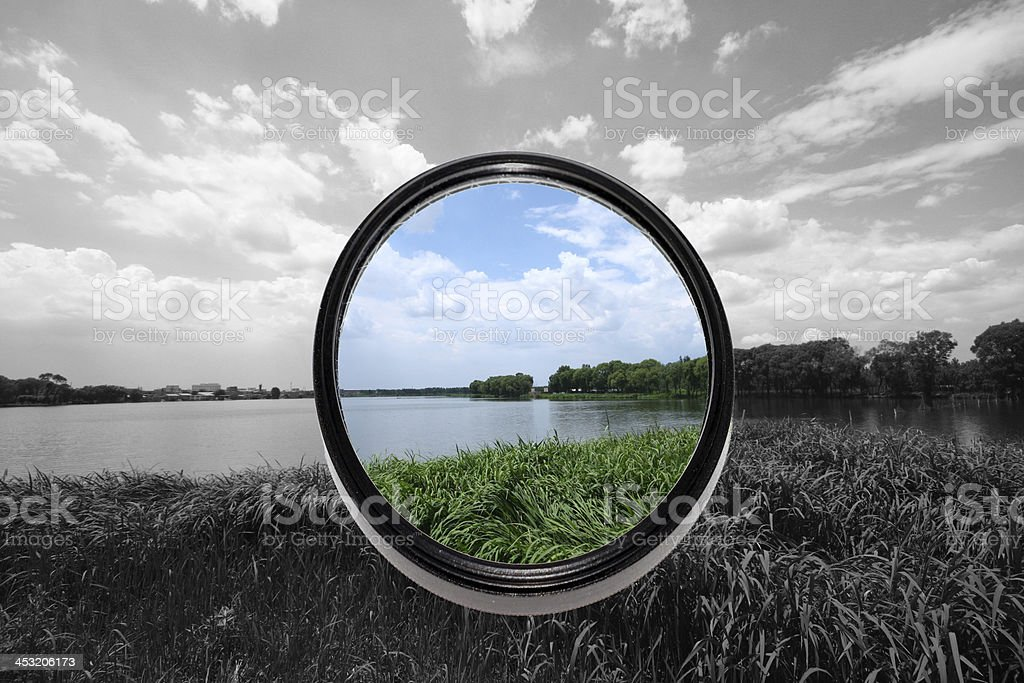 filters lense stock photo