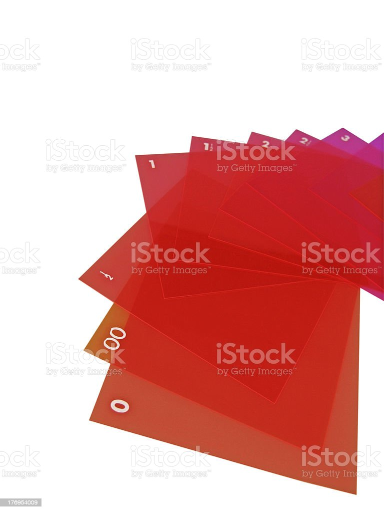 Filters royalty-free stock photo