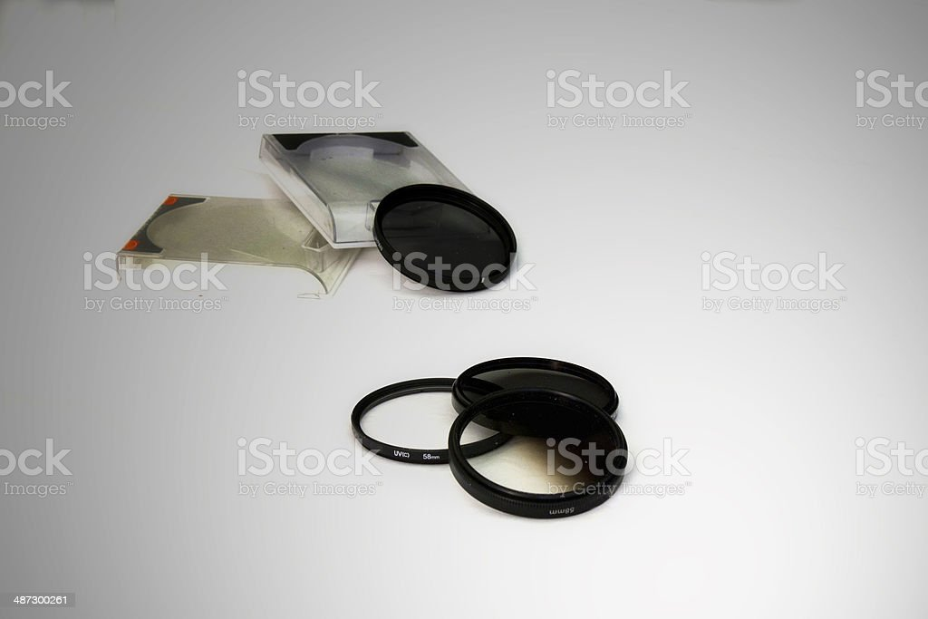 Filters stock photo