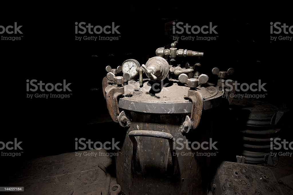 Filthy and Old royalty-free stock photo