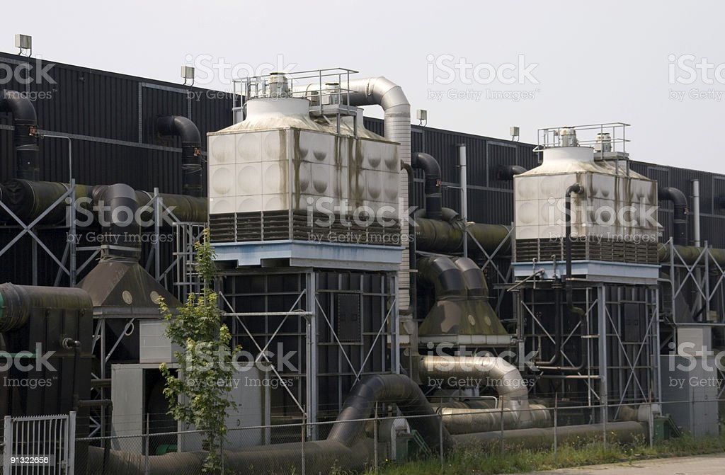 filtration plant royalty-free stock photo