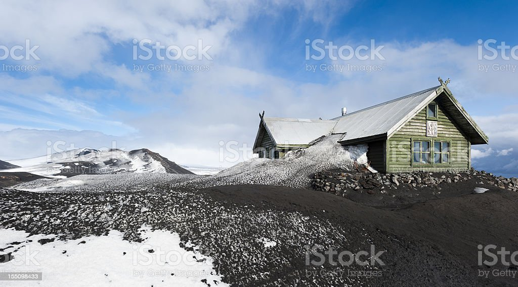 fimmförduhalsskali, iceland stock photo