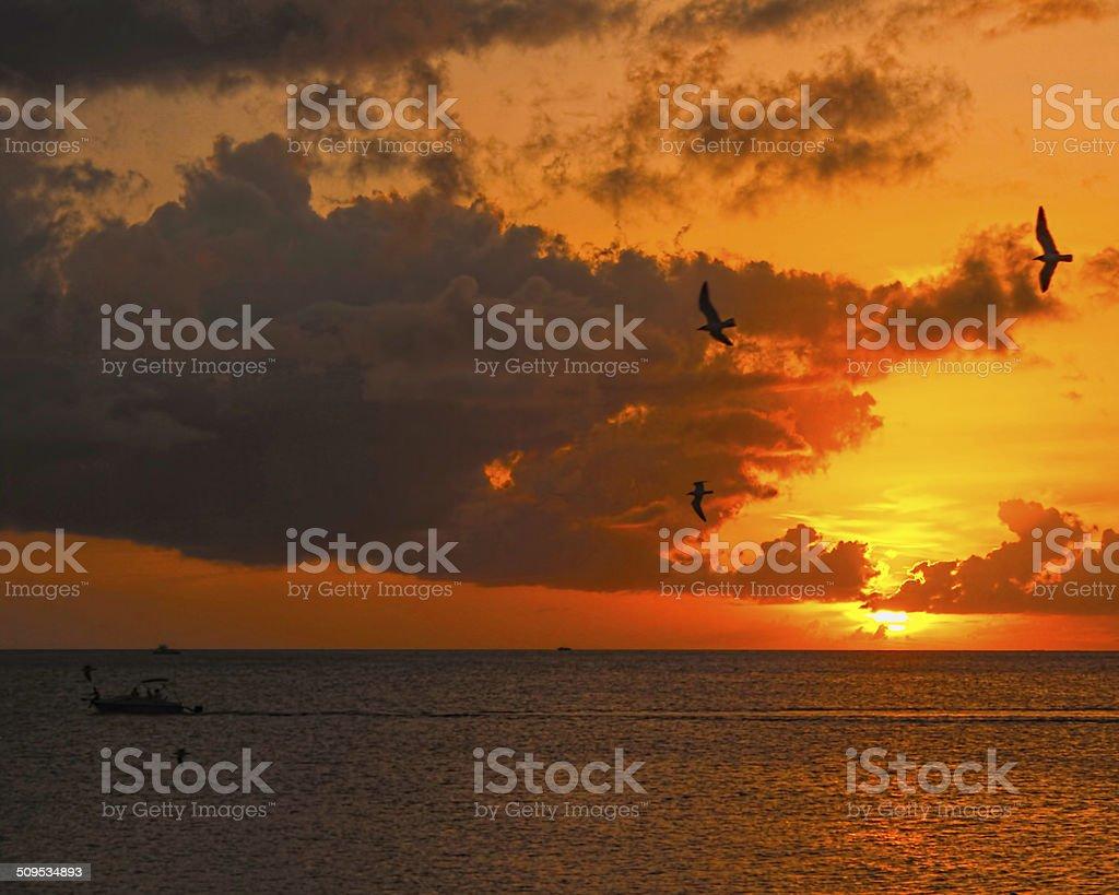Fin de Sol stock photo