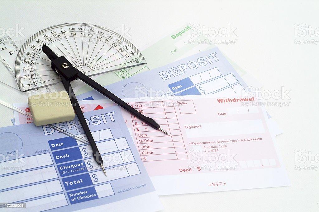 Finacial Plan stock photo