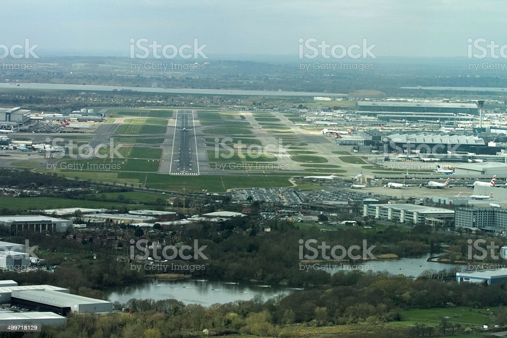 Final Approach stock photo