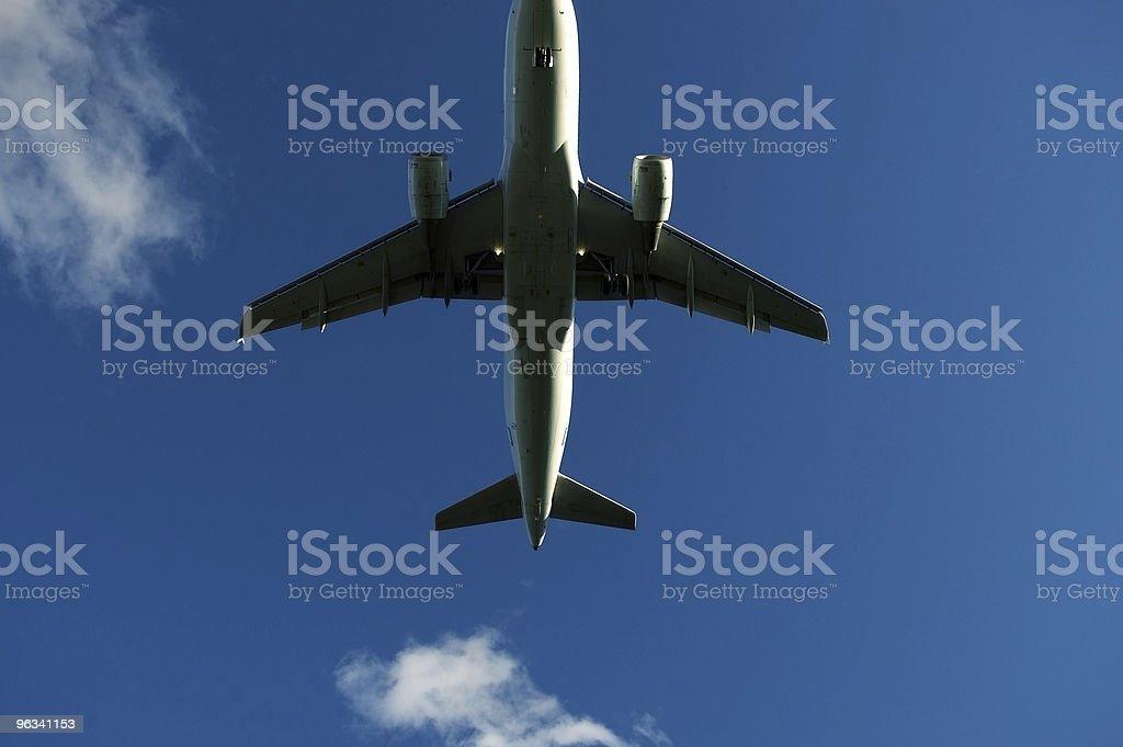 Final Approach stock photo
