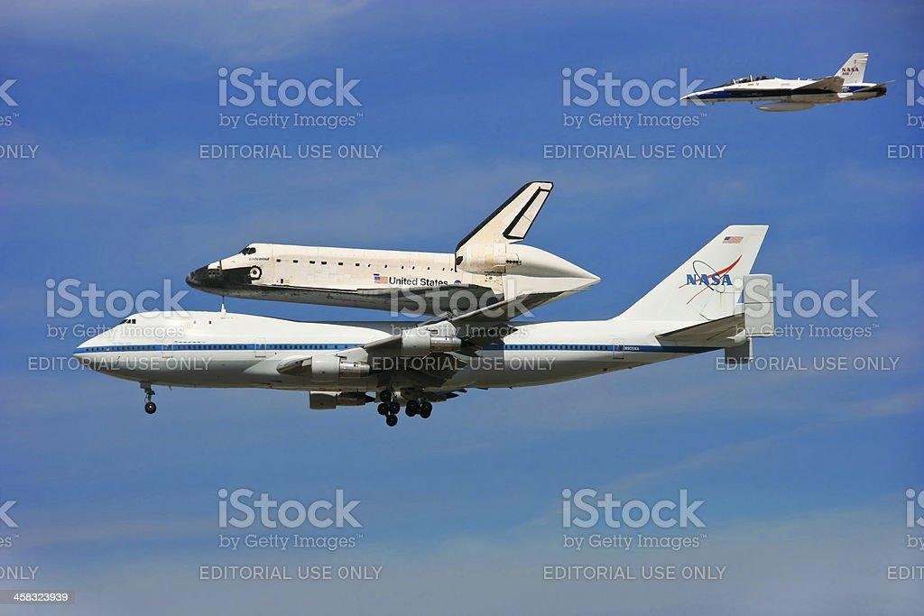 Final Flight royalty-free stock photo