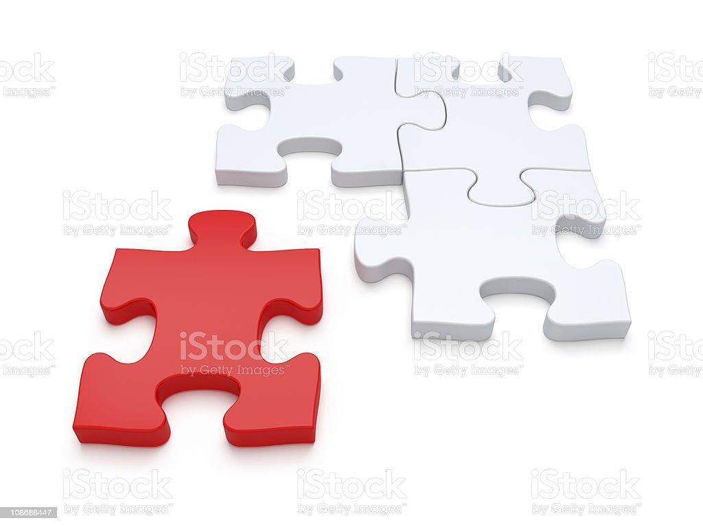 Final Piece of the Jigsaw stock photo