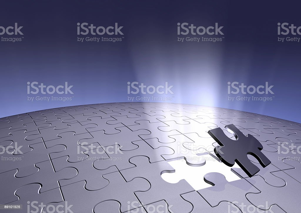 Final Piece Series royalty-free stock photo