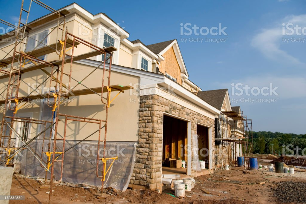 Final Stages - Garage View royalty-free stock photo