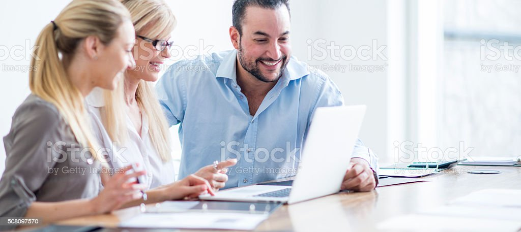 Finalizing the Budget stock photo