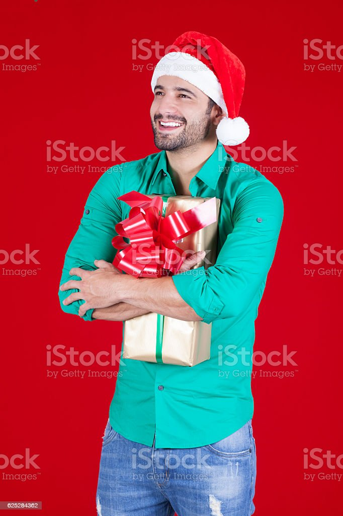 Finally my Christmas gift arrived stock photo