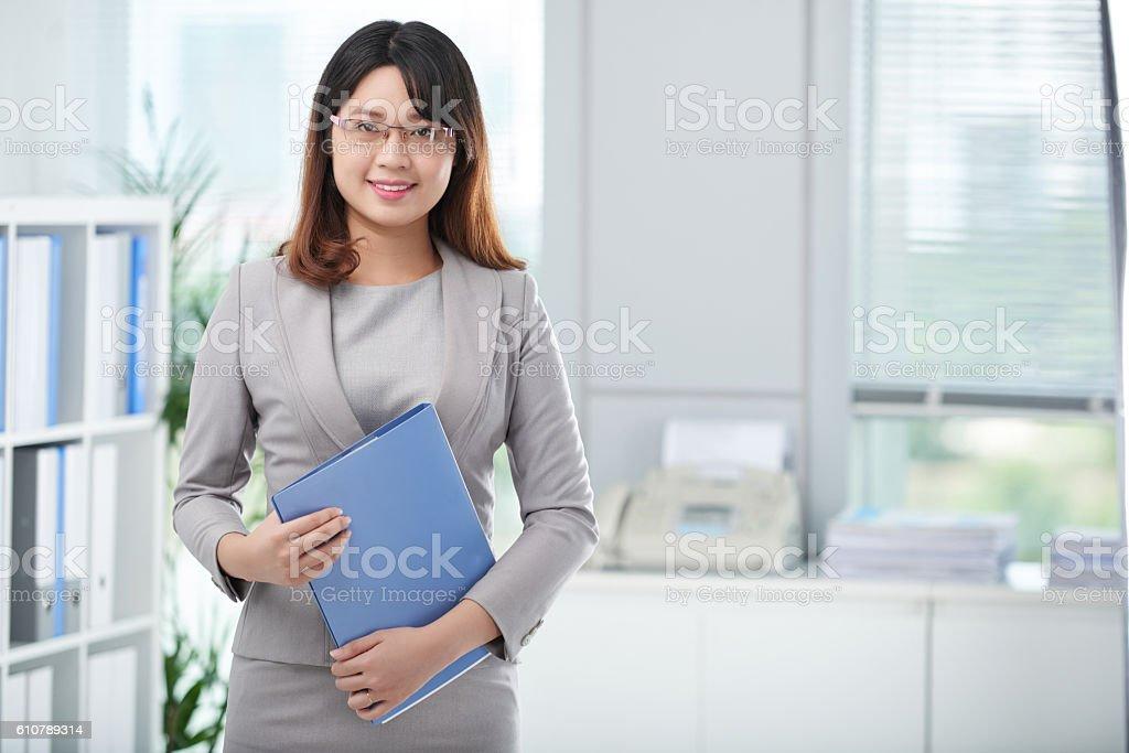 Finanacial manager stock photo