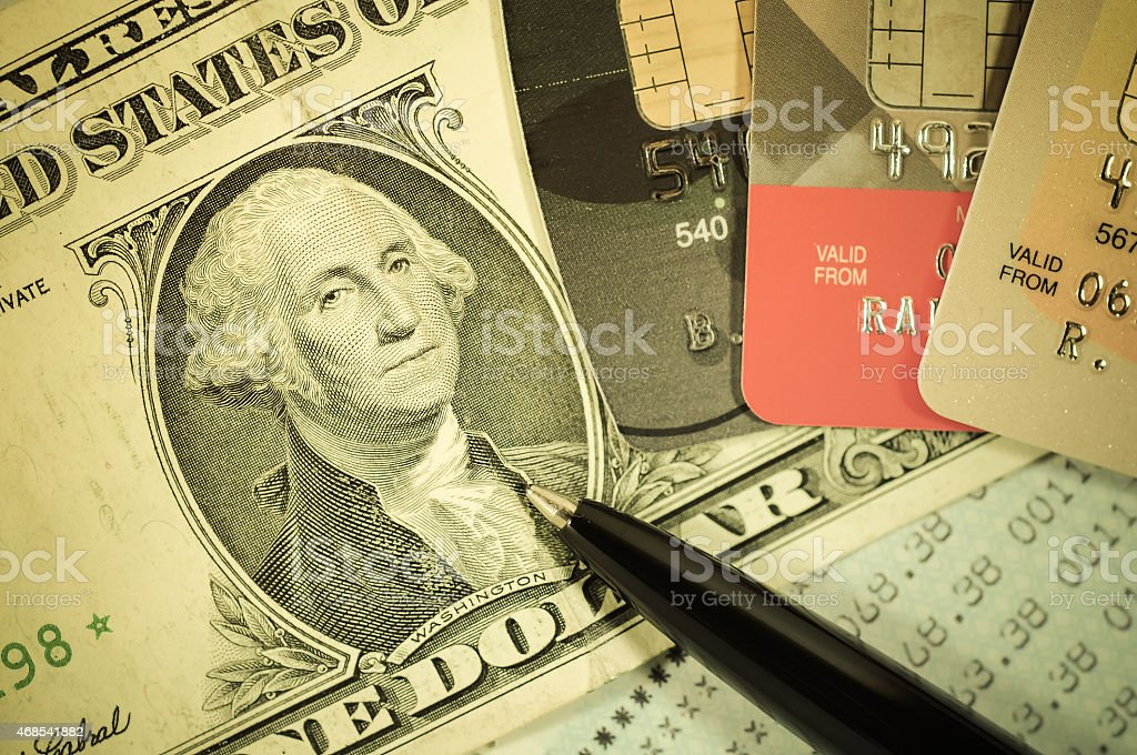 Finance and Banking concept. stock photo