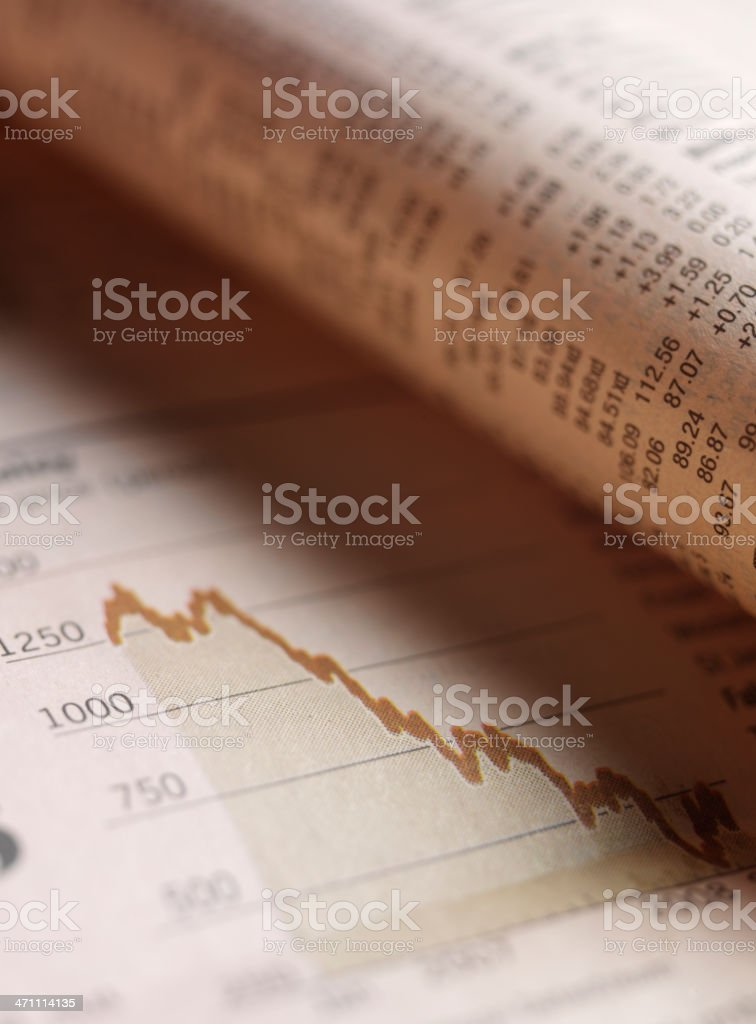 Finance and Figures royalty-free stock photo