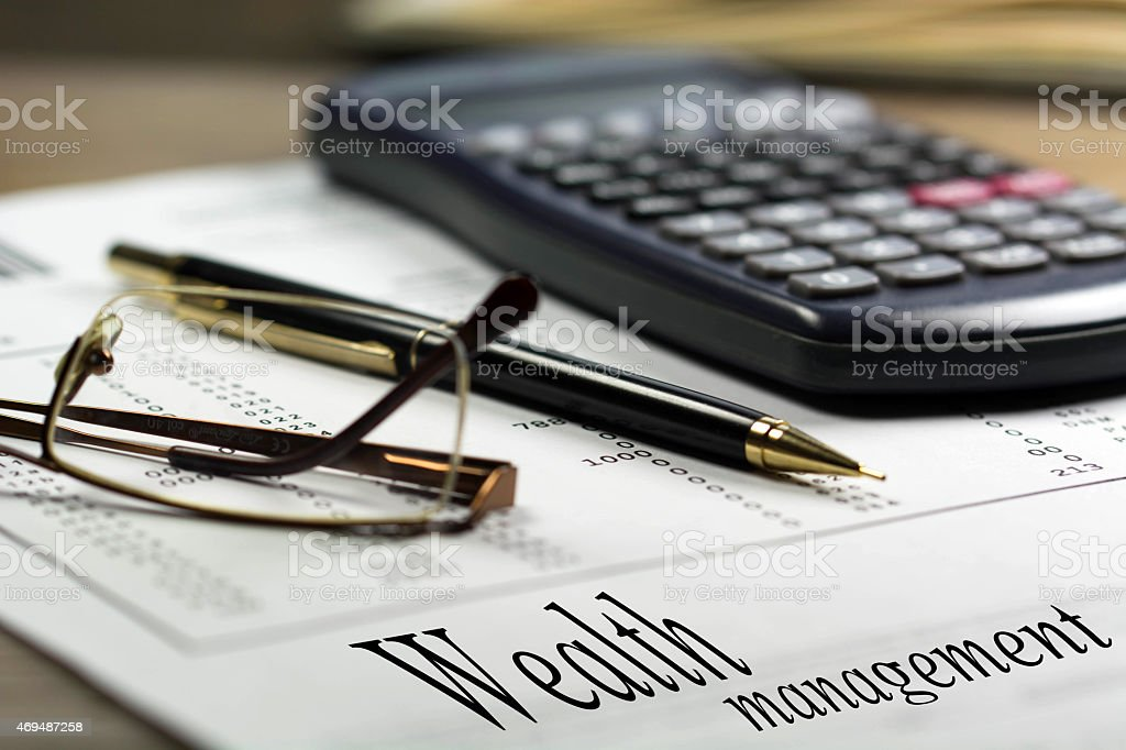 Finance and money series stock photo