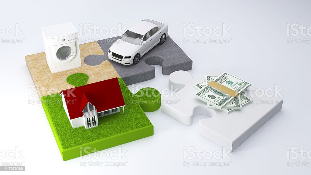 Finance Image stock photo