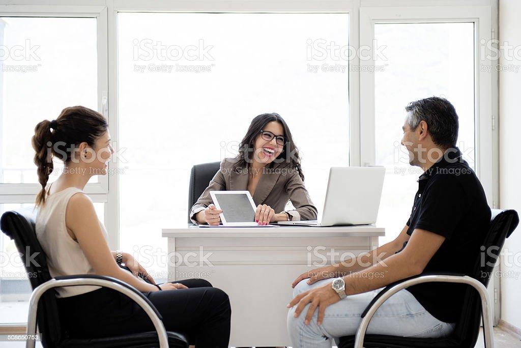 finance office stock photo