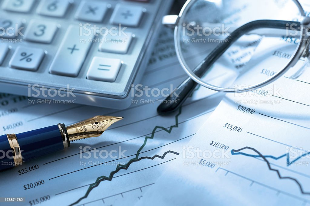 Finances stock photo