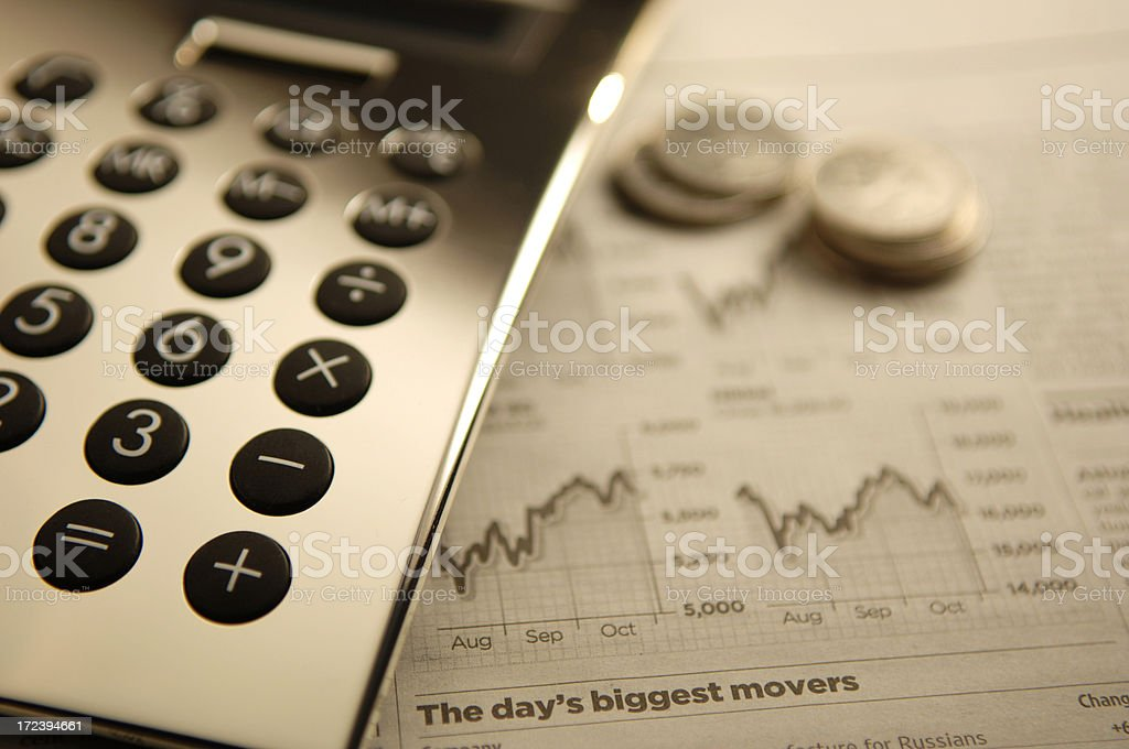 finance series royalty-free stock photo