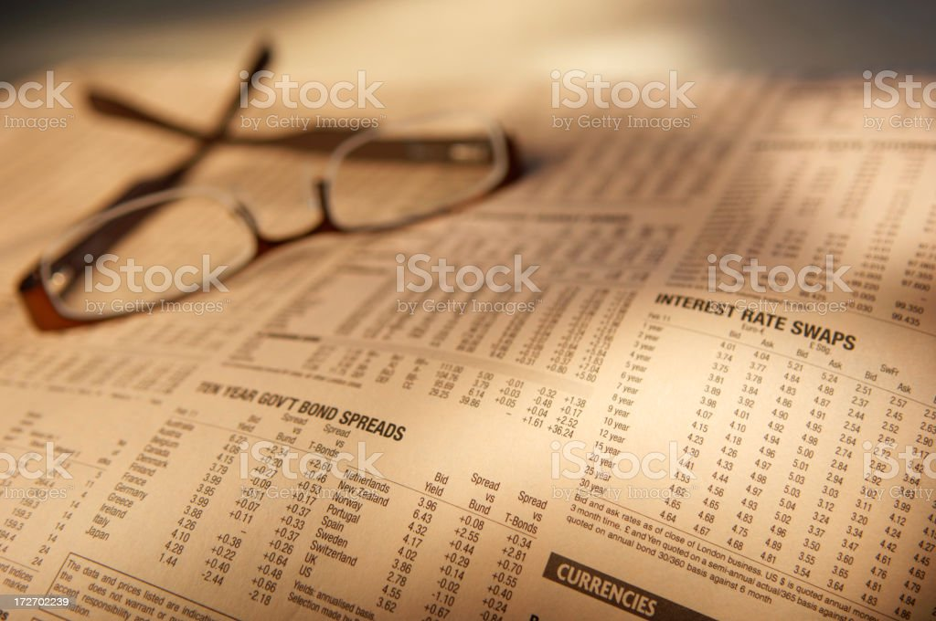 finance series stock photo