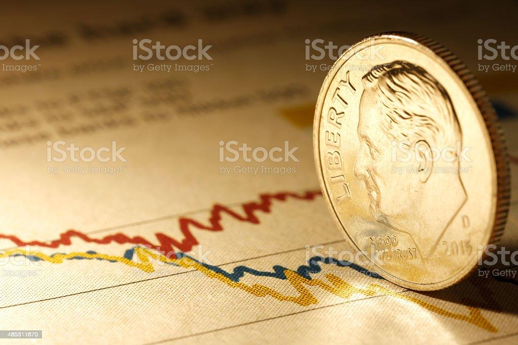 finance series stock photo