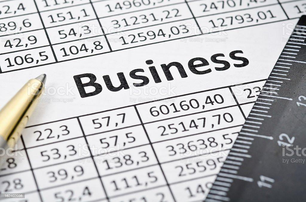 Finances background royalty-free stock photo