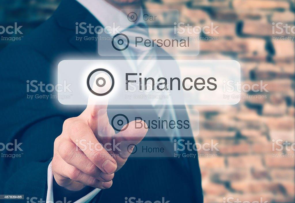 Finances Concept stock photo