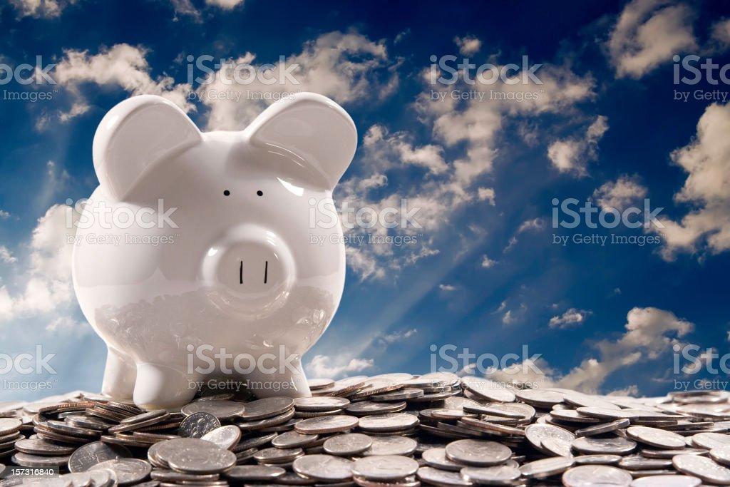 Finances - Savings royalty-free stock photo