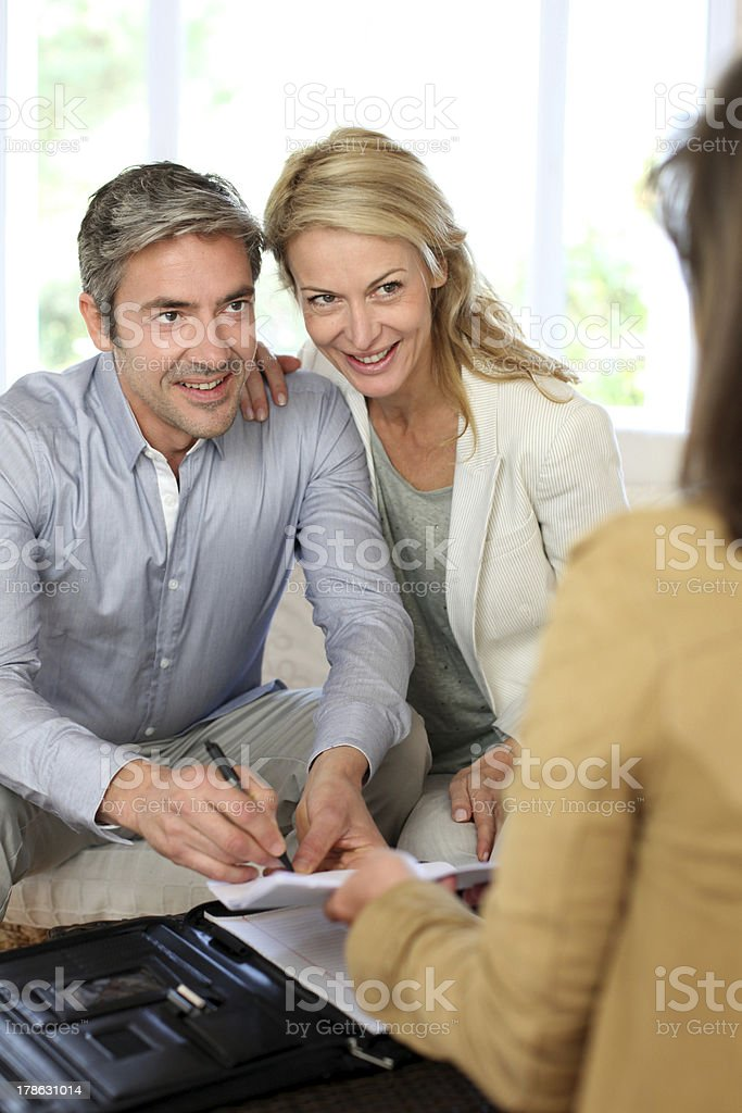 FInancial advice for home investment royalty-free stock photo