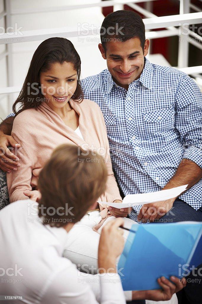 Financial advice royalty-free stock photo