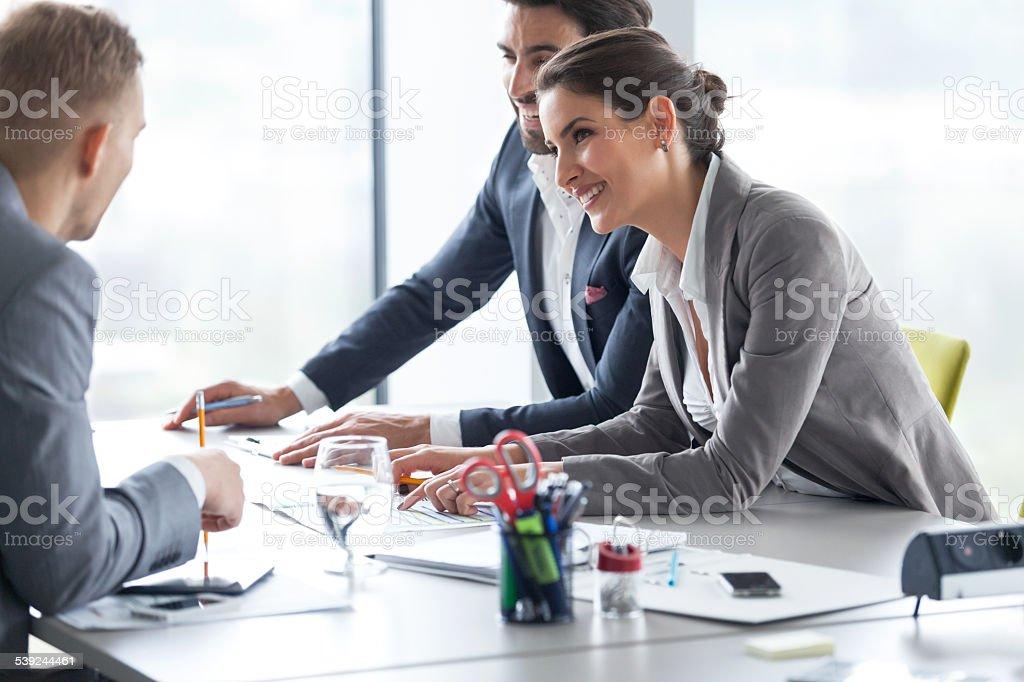 Financial advice stock photo
