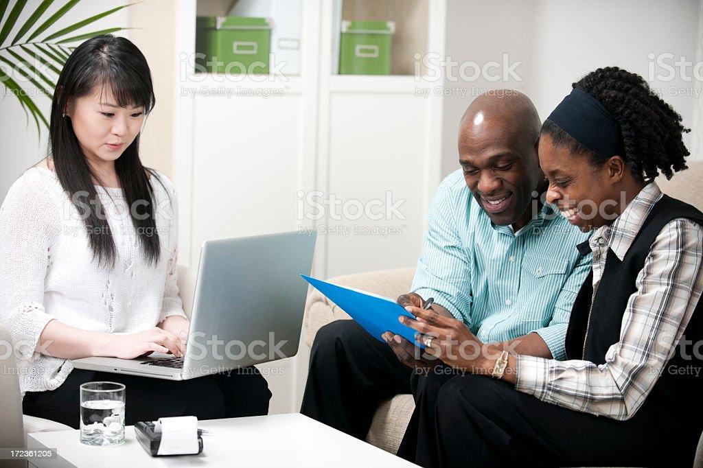 Financial Advisor. royalty-free stock photo