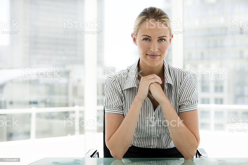 Financial advisor stock photo