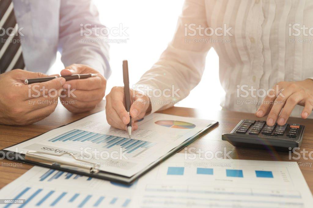 financial advisor team stock photo