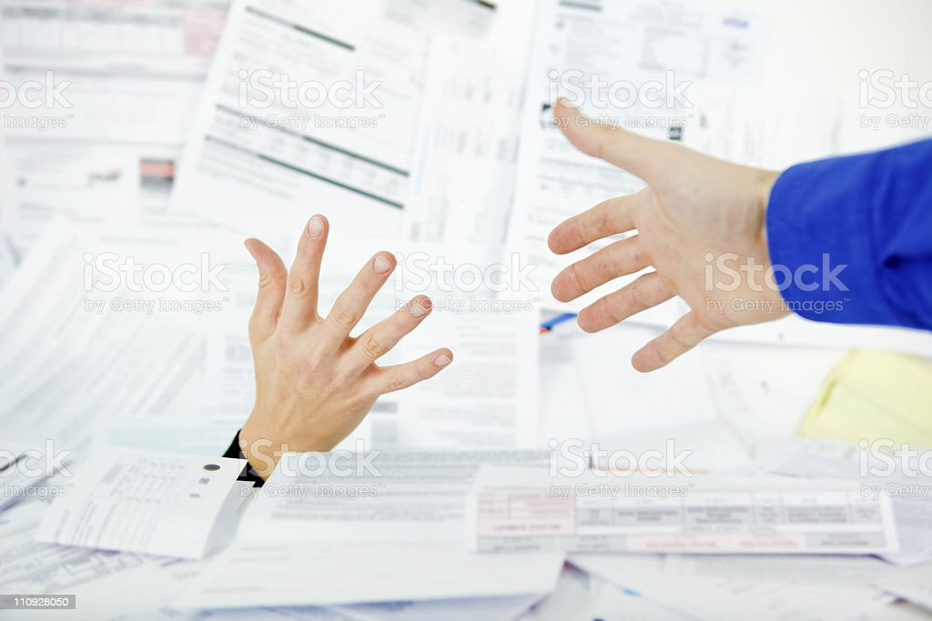 Financial Aid royalty-free stock photo