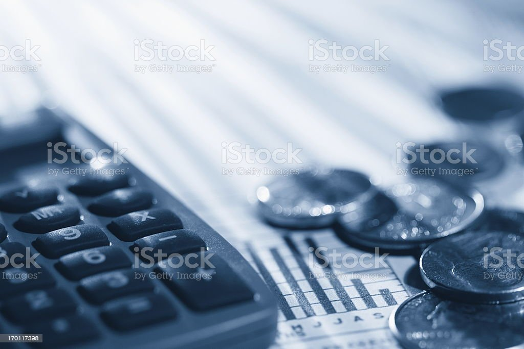 Financial Analysis royalty-free stock photo