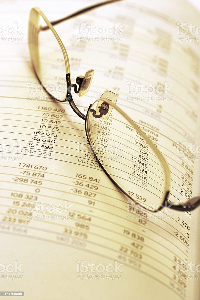 Financial Analysis royalty-free stock photo