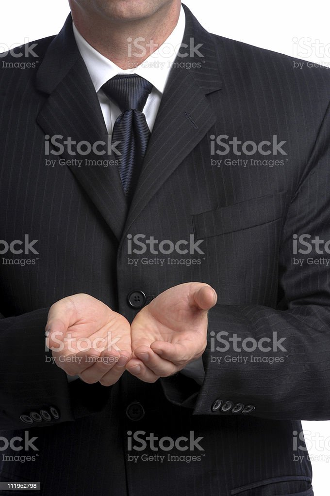 Financial Bailout royalty-free stock photo