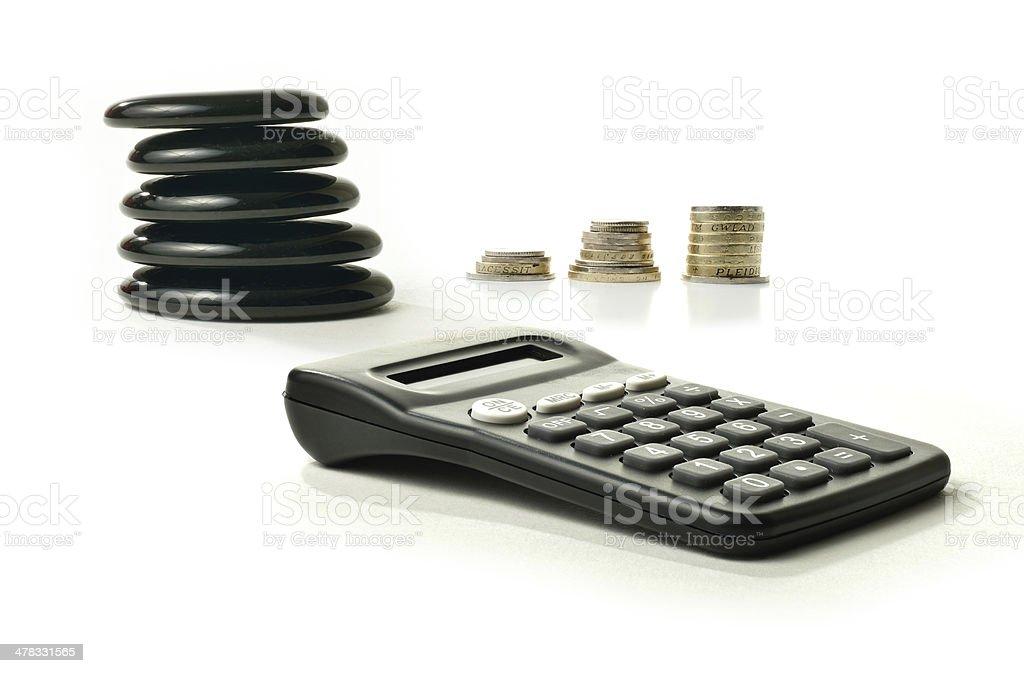 Financial Balance 5 royalty-free stock photo