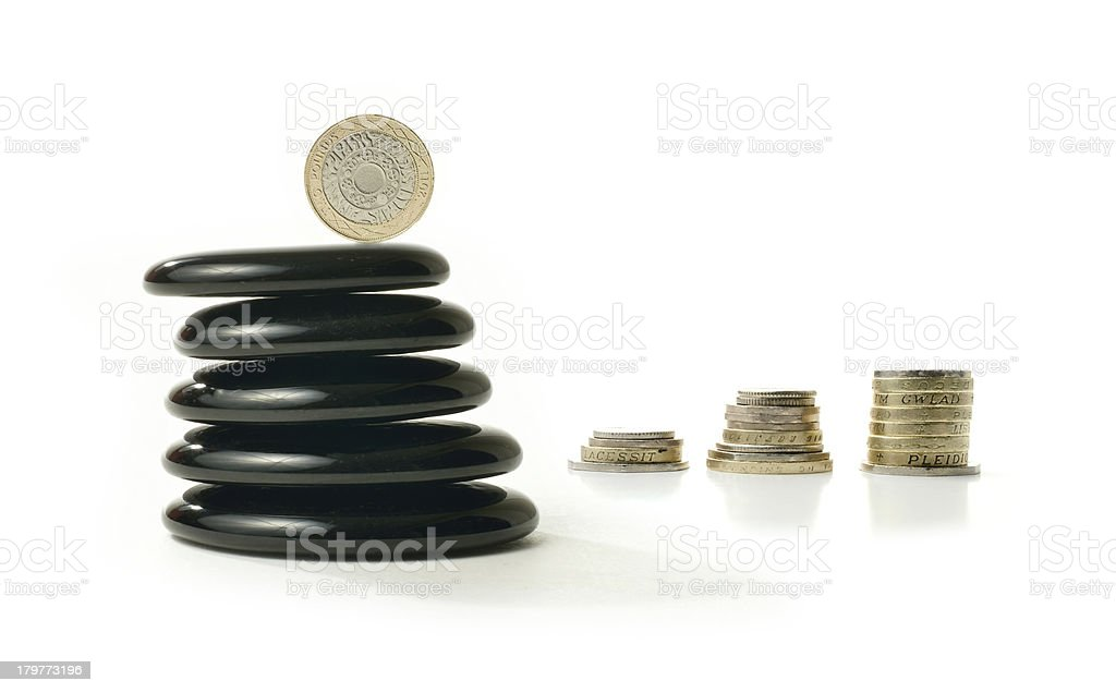 Financial Balance 6 royalty-free stock photo