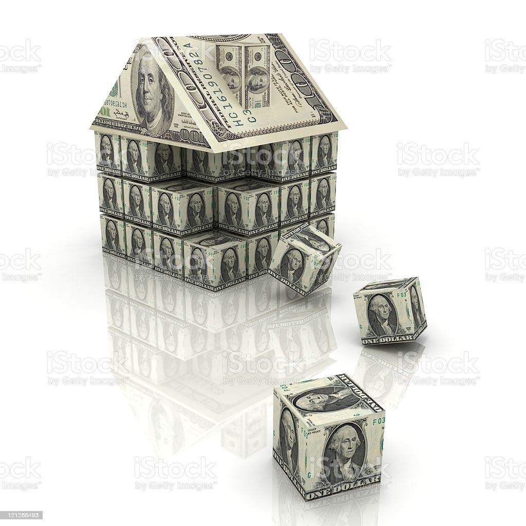 Financial Building stock photo