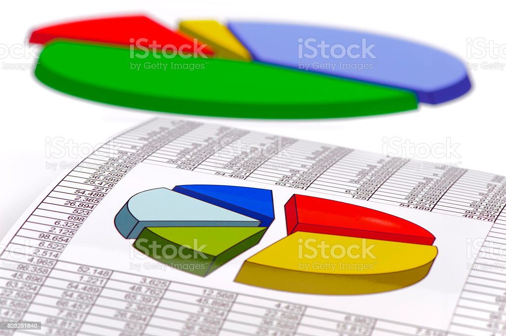 financial business calculation stock photo
