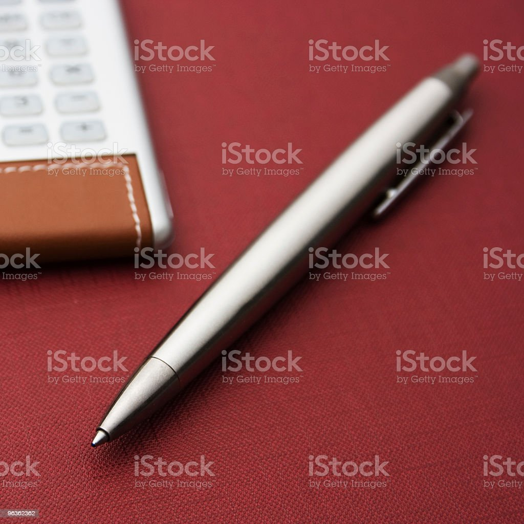 Financial Calculations stock photo