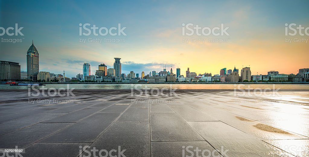 financial center stock photo